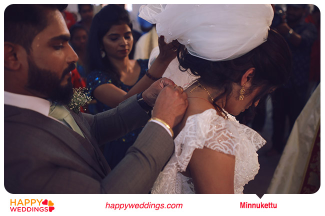Minnukettu christian wedding