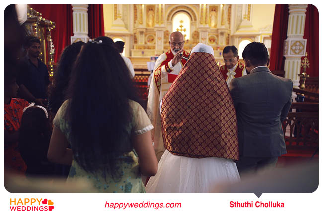 Kerala wedding Sthuthi Cholluka (Prayer session)
