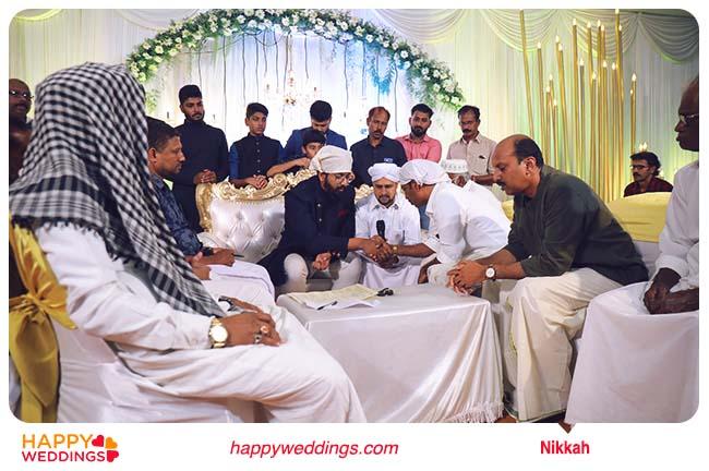 Muslim wedding Nikah