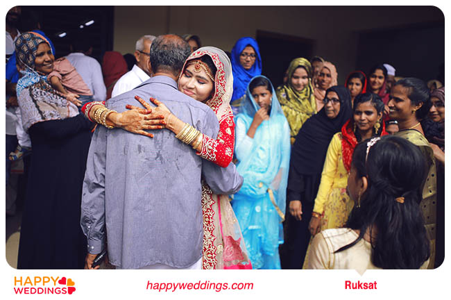 Muslim wedding Ruksat