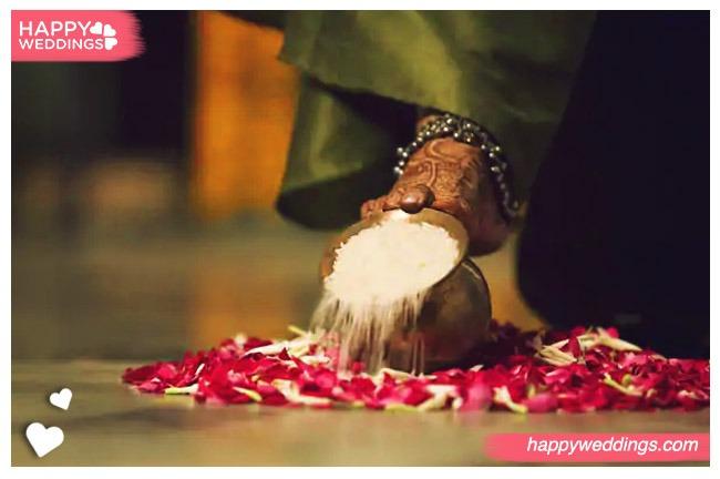 Grihapravesham tamil wedding