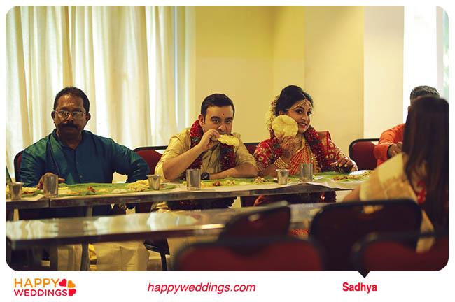 kerala wedding Sadhya