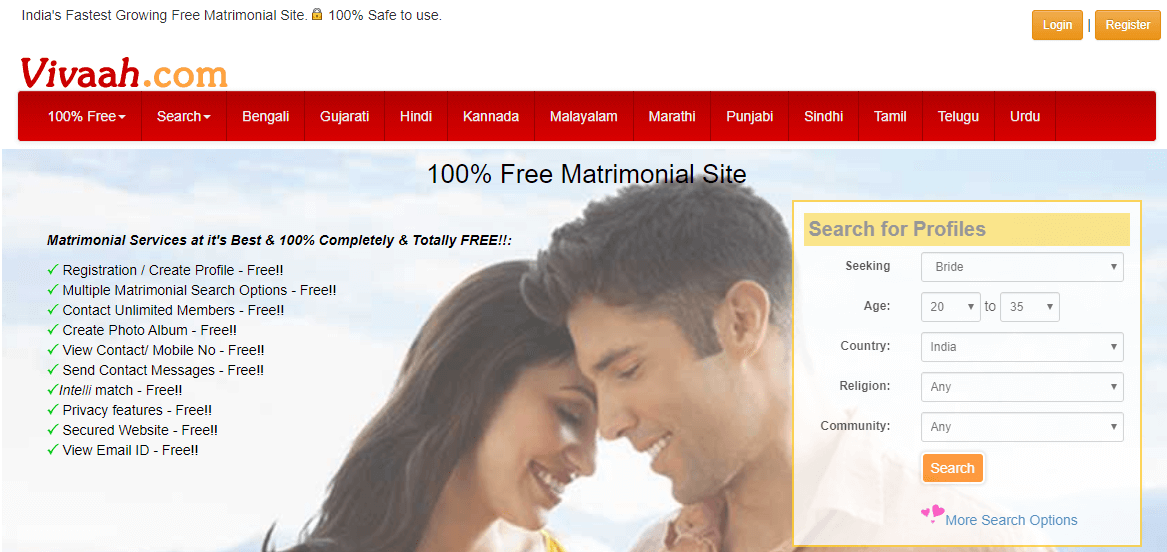 15 Best Matrimony Sites In India
