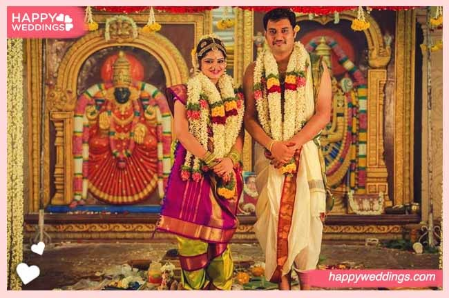 brahmin wedding oonjal