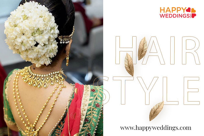 kerala wedding hairstyles