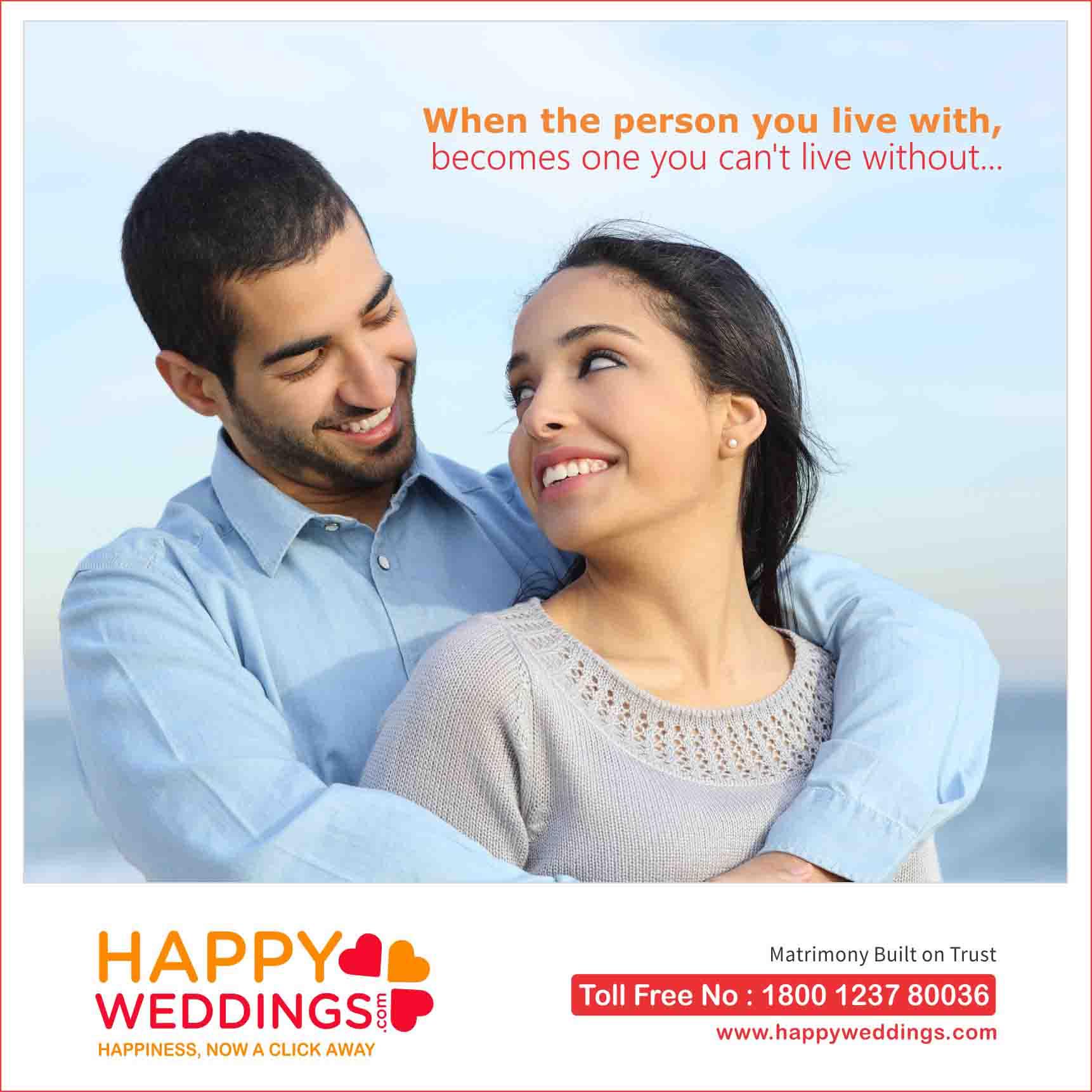 happyweddings ad banner